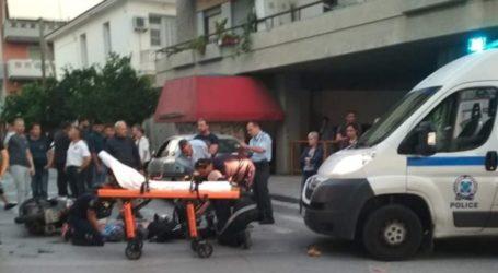 Τροχαίο ατύχημα στον Βόλο – Στο Νοσοκομείο ένας τραυματίας [εικόνα]