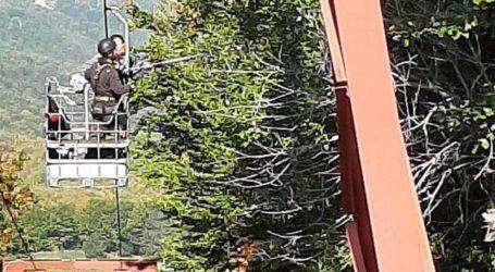 Συνεχίζονται οι προετοιμασίες στο Χιονοδρομικό Πηλίου