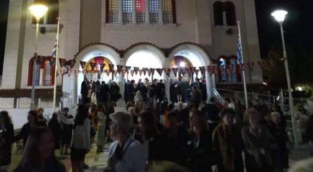 Τιμήθηκε ο Άγιος Δημήτριος και στον Αλμυρό [εικόνες]
