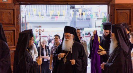 Ο Βόλος τίμησε τον Άγιο Δημήτριο – Δείτε 20 φωτογραφίες από τον Μέγα Πανηγυρικό Εσπερινό [εικόνες]