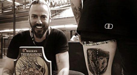 Διακρίσεις για Λαρισαίο tatoo artist σε Βαλκανικό Φεστιβάλ στη Θεσσαλονίκη (φωτο)