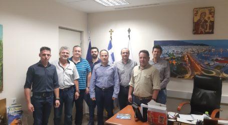 Με τον Αστυνομικό Διευθυντή Μαγνησίας συναντήθηκαν οι ιδιοκτήτες των συνεργείων αυτοκινήτων
