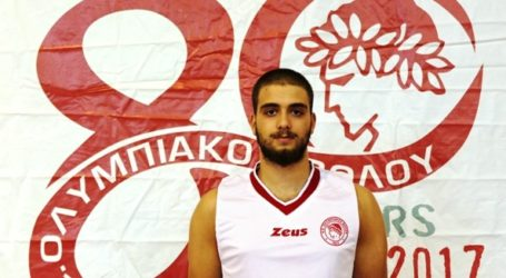 Επανεντάχθηκε υγιής στην ανδρική ομάδα καλαθοσφαίρισης του Ολυμπιακού ο Θεοφάνης Αγγελοκωστόπουλος