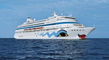 Στο λιμάνι του Βόλου με 1.188 επιβάτες το κρουαζιερόπλοιο Aida Cara