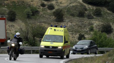Βόλος: Αυτοκίνητο έπεσε σε κτήμα με ελαιόδεντρα στη Ν. Αγχίαλο