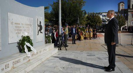 Στην Ελασσόνα για την επέτειο της Απελευθέρωσης ο Υφυπουργός Εθνικής Άμυνας Αλκιβιάδης Στεφανής