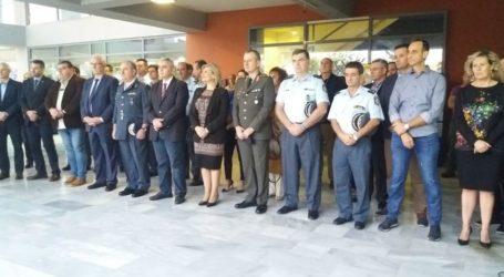 Ξεκίνησαν οι εορτασμοί για την «Ημέρα της Αστυνομίας» στη Λάρισα (φωτο)
