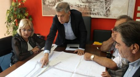 Νέο κυκλικό κόμβο αποκτά η βορειοανατολική είσοδο του Τυρνάβου