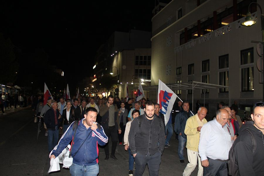 Νέα συλλαλητήριο για το πολυνομοσχέδιο της κυβέρνησης πραγματοποίησε το ΕΚΛ (φωτο)