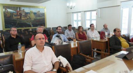 Εκδήλωση για τα Επιχειρηματικά πάρκα στο Επιμελητήριο Μαγνησίας