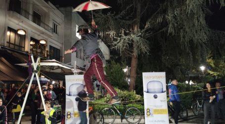 Κόλπα που κόβουν την ανάσα στο 8ο Φεστιβάλ Θεάτρου Δρόμου Λάρισας (φωτο – βίντεο)