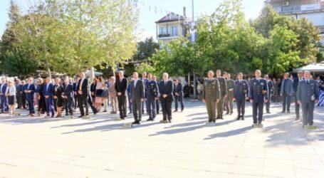 Στις εκδηλώσεις για την 107η Επέτειο Απελευθέρωσης της Ελασσόνας ο διοικητής της 1ης Στρατιάς