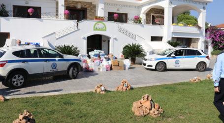 Βόλος: Προσφορά της Αστυνομίας στην «Κιβωτό του Κόσμου»