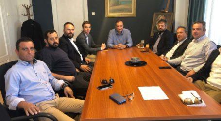 Με το Ινστιτούτο Γεωπονικών Επιστημών συναντήθηκε ο Δήμαρχος Τυρνάβου