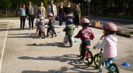 Ξεκίνησε η λειτουργία του Πάρκου Κυκλοφοριακής Αγωγής του δήμου Λαρισαίων