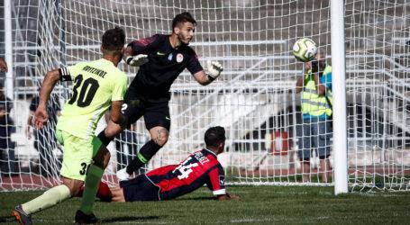 «Έσωσε» στο φινάλε τον βαθμό ο Ολυμπιακός Βόλου, 1-1 στα Τρίκαλα