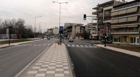 Λάρισα: Προβλήματα στην κυκλοφορία από τροχαίο στην οδό Αεροδρομίου