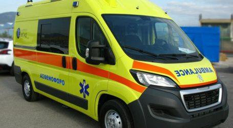 ΤΩΡΑ: Κατέρρευσε ηλικιωμένος στη μέση του δρόμου σε περιοχή του Βόλου