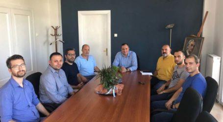 Συνάντηση επιτυχόντων της προκήρυξης 3Κ/2018 της ΔΕΥΑΤ με τον σήμαρχο Τυρνάβου