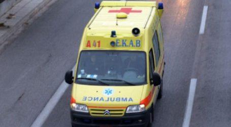 Τροχαίο ατύχημα έξω από τον Βόλο – Ανετράπη ΙΧ αυτοκίνητο