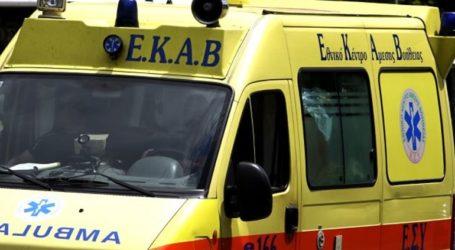 ΤΩΡΑ: Στο Νοσοκομείο Βόλου 76χρονος μετά από πτώση