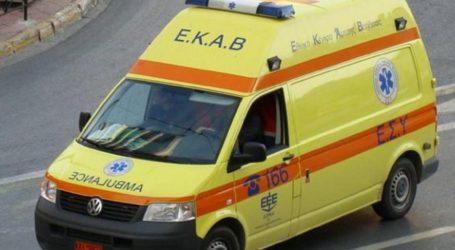 Τροχαίο ατύχημα στο κέντρο του Βόλου – Μία τραυματίας