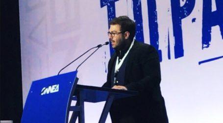 Γ.Εμμανουηλίδης:Χρειάζεται αγώνας για πρόοδο στην οικονομία, αγώνας για να καινοτομήσουν οι νέοι