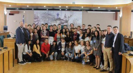 Μαθητές από Ισπανία και Ιταλία επισκέφτηκαν την Περιφέρεια Θεσσαλίας στο πλαίσιο του προγράμματος Erasmus