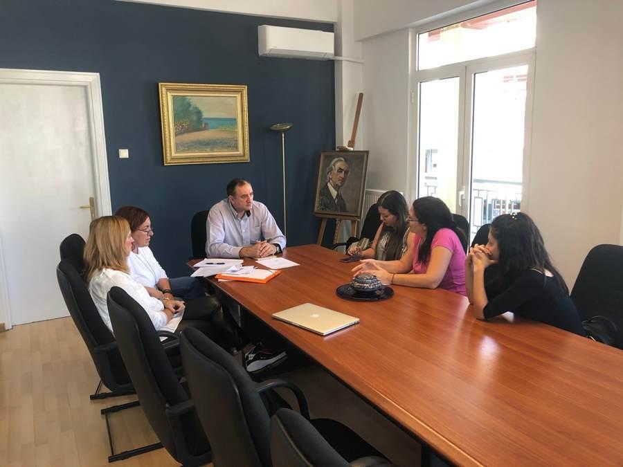 Συνάντηση δημάρχου Τυρνάβου με το Φιλοζωικό Σωματείο Λάρισας Anim.A.L.