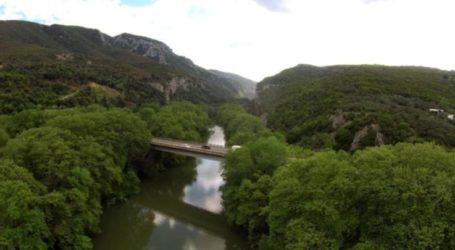 Κλείνει από αύριο Δευτέρα και για 8 μήνες η γέφυρα του Πηνειού στα Τέμπη