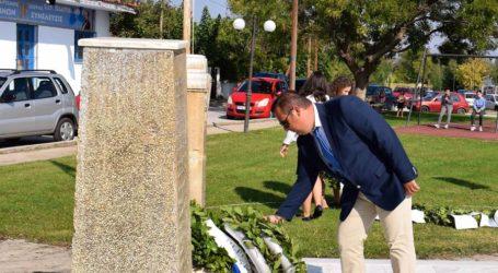 Μνημόσυνο στον Πλατύκαμπο για την εκτέλεση 54 πατριωτών