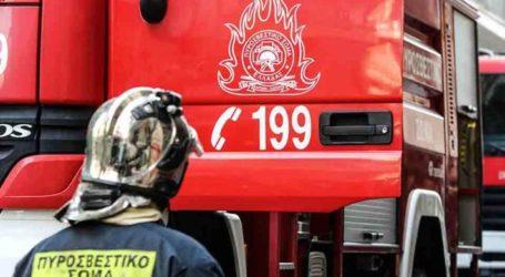Φωτιά σε αποθήκη στη Ζαγορά Πηλίου