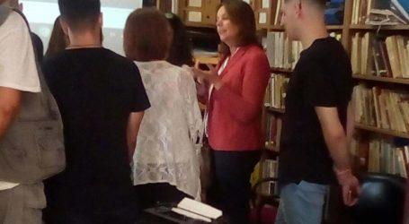 Στα Γενικά Αρχεία του Κράτους η βουλευτής Κατερίνα Παπανάτσιου