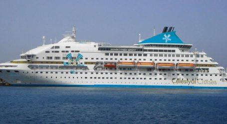 Στον Βόλο του κρουαζιερόπλοιο Celestyal Crystal με 694 επιβάτες