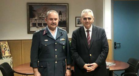 Χαρακόπουλος με Ταξίαρχο ΕΛ.ΑΣ. στη Θεσσαλία: Και στην ασφάλεια η χώρα γύρισε σελίδα