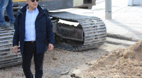 Στην ανακατασκευή των παράπλευρων οδών της εισόδου της πόλης του Βόλου προχωρά η Περιφέρεια Θεσσαλίας