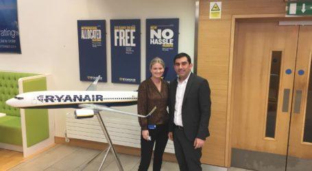 Στη Ryanair o δήμαρχος Σκιάθου για τη διεκδίκηση δρομολογίων