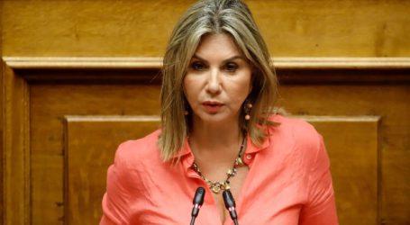 Η Ζέττα Μακρή Ειδική Εισηγήτρια της Πλειοψηφίας στην Επιτροπή Αναθεώρησης του Συντάγματος