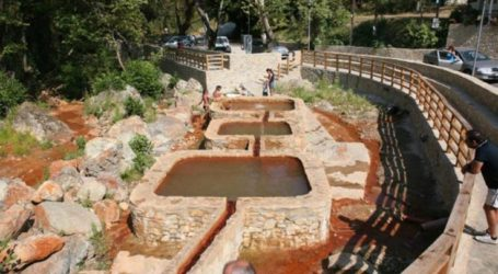 Η Περιφέρεια Θεσσαλίας και ο Δήμος Αγιάς βάζουνστο χάρτη των Ιαματικών Πηγών το Κόκκινο Νερό