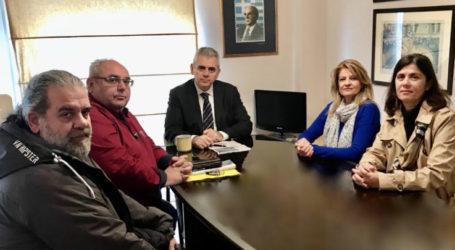 Μ. Χαρακόπουλος: «Βήμα – βήμα η παράκαμψη της οδού Βόλου»