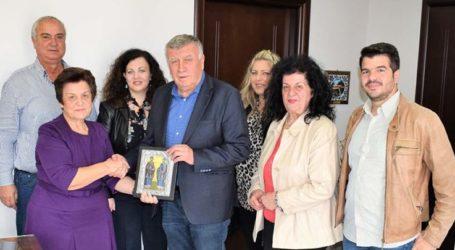 Στο Δήμαρχο Κιλελέρ το νέο Διοικητικό Συμβούλιο του Συλλόγου Γυναικών Μελίας