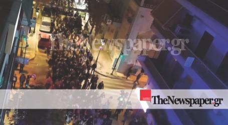 ΤΩΡΑ: Δείτε εναέριες εικόνες της πορείας για το Πολυτεχνείου στον Βόλο