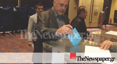 Εκλογές ΚΕΔΕ: Ψήφισε ο Αχιλλέας Μπέος