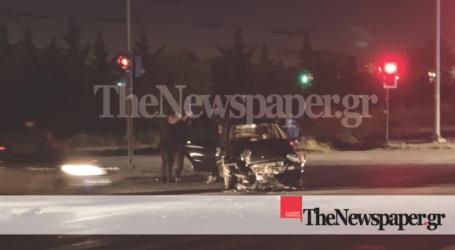 ΤΩΡΑ: Σύγκρουση ΙΧ με φορτηγό στον Περιφερειακό του Βόλου [αποκλειστικές εικόνες]