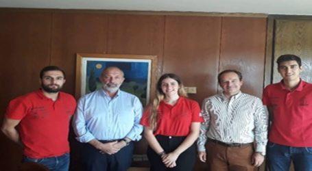 Συνάντηση της φοιτητικής ομάδας Centaurus Racing Team του Πανεπιστημίου Θεσσαλίας με τον Πρύτανη Ζήση Μαμούρη