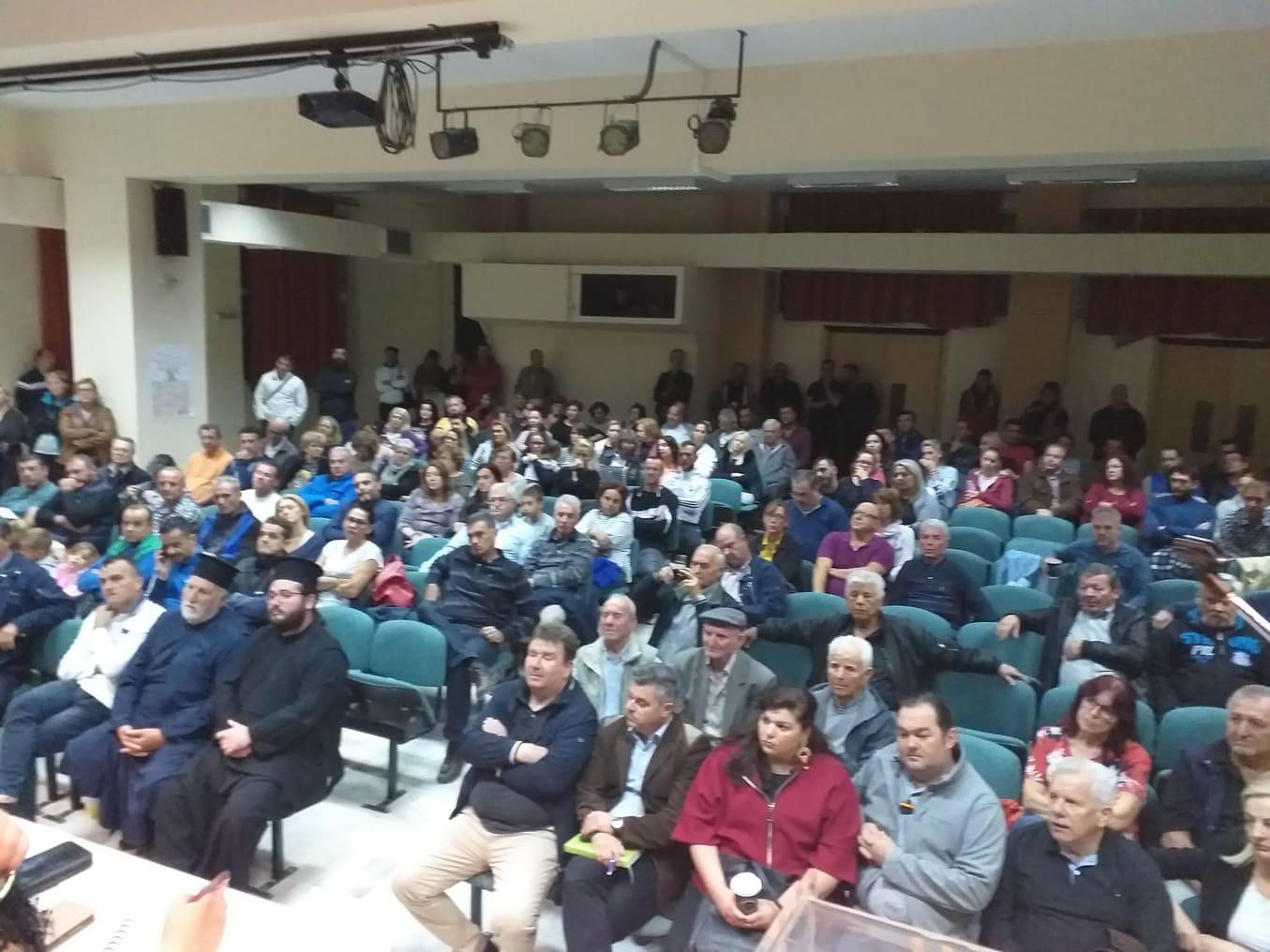 Με συμμετοχή πλήθους πολιτών οι συνελεύσεις στα χωριά του Δήμου Λαρισαίων (φωτό)
