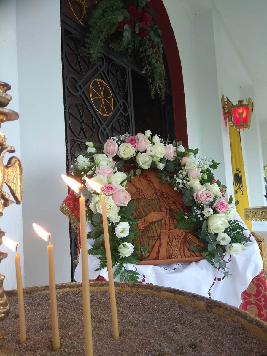 Εορτασμοί του Ι.Ν. Αγίας Αικατερίνης στο Γηροκομείο Λάρισας