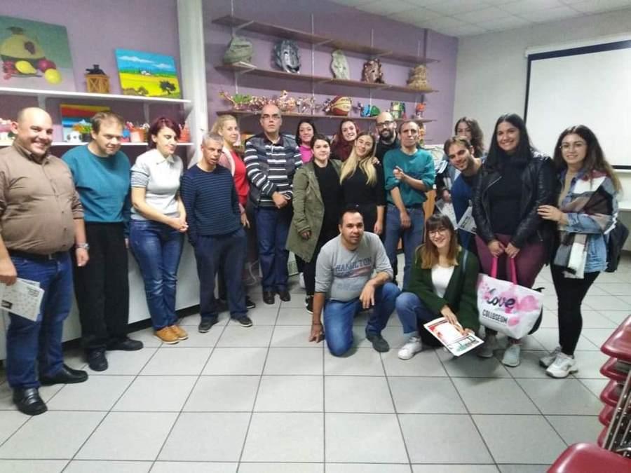 Επίσκεψη φοιτητών της Νοσηλευτικής του Πανεπιστημίου Θεσσαλίας στο ΘΕΨΥΠΑ