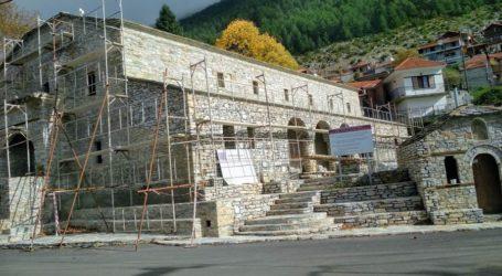 Προχωρούν οι εργασίες αποκατάστασης του Ι.Ν. Αγίας Παρασκευής Κοκκινοπηλού Ελασσόνας