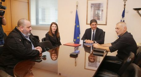 Τα κλικ από τη συνάντηση Αυγενάκη με ΠΑΕ Ολυμπιακός (pics)